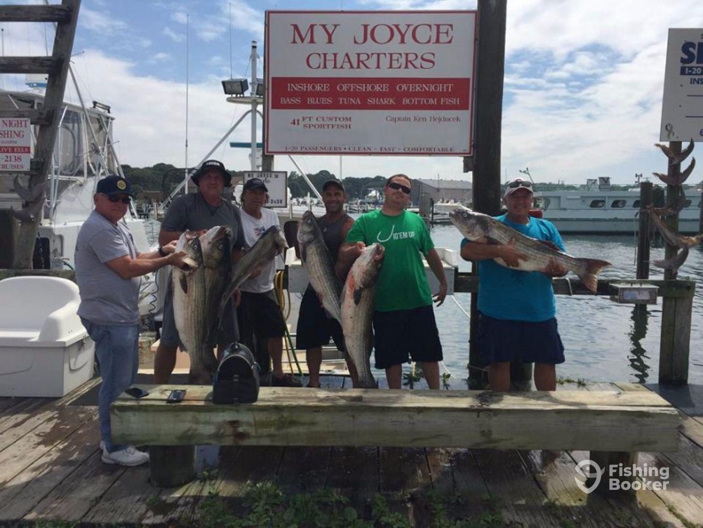 My joyce fishing charters montauk ny fishingbooker for Montauk fishing party boats
