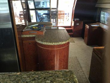 Spacious main salon air condition satellite TV