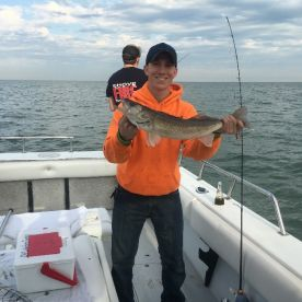 Clients first Walleye Fishing Charter
