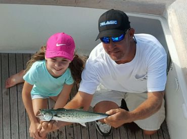 Kids Love fishing Too!.. Spanish Mackerel.