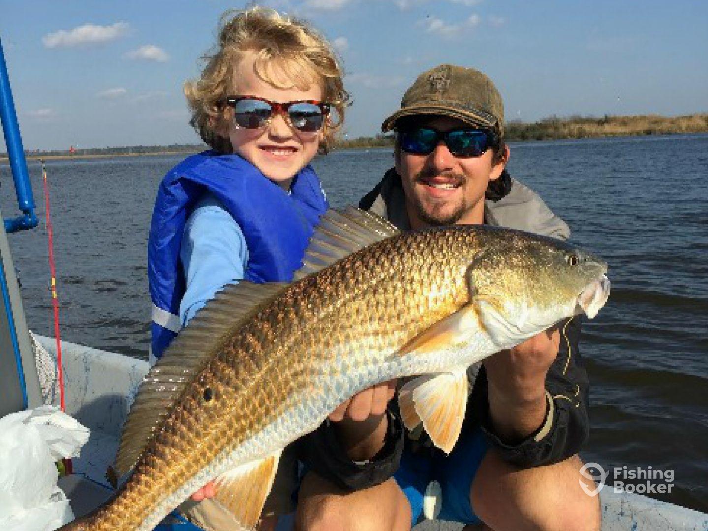 Reel charters llc lake charles la fishingbooker for Lake charles fishing