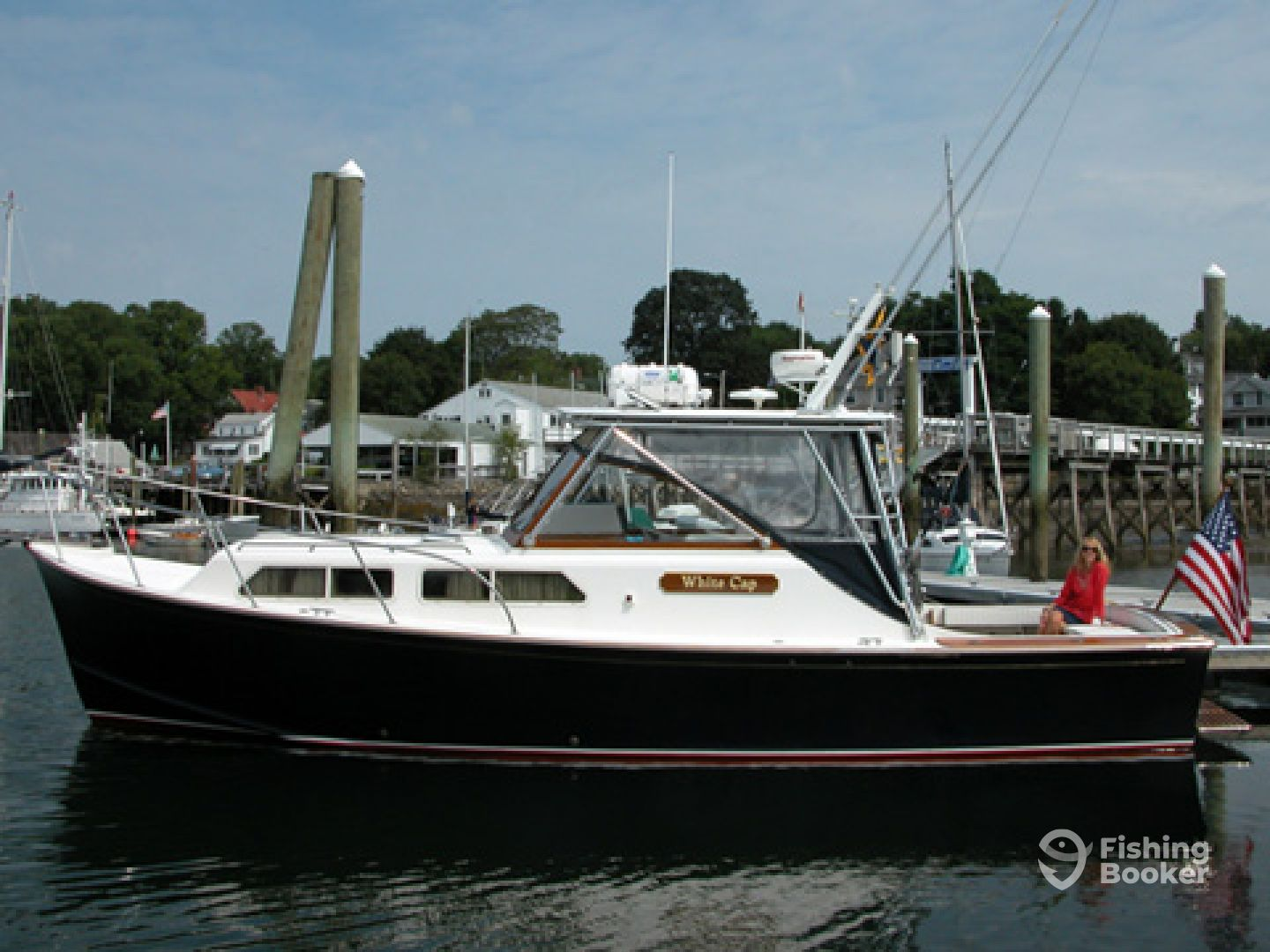 White cap charters scituate ma fishingbooker for Fishing charters plymouth ma