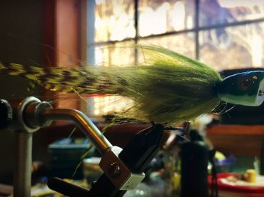Frog poppers. Wisconsin fly fishing company