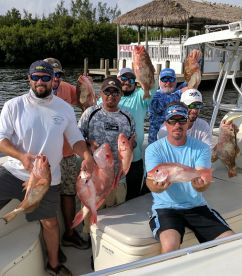 Great off shore trip for Red Snapper and Grouper