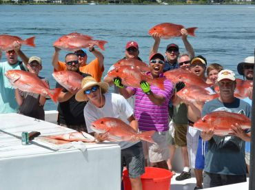 Loads of Red Snapper and Smiles!