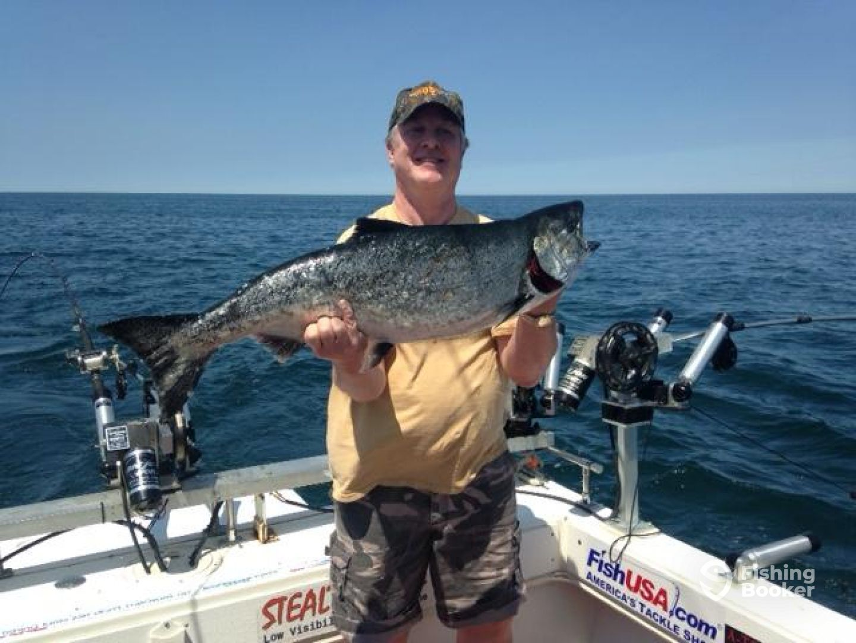 Manatau charters fairview pa fishingbooker for Fishing trips in pa