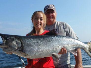 RV Charters Lake Michigan Sportfish, Algoma