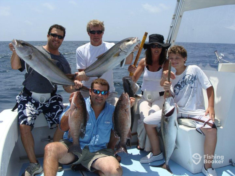 Locked up charters 100 proof destin fl fishingbooker for Destin florida fishing trips