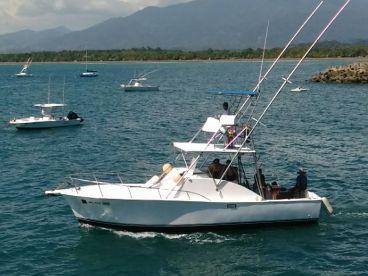 Blue Pearl II - 32' Hatteras