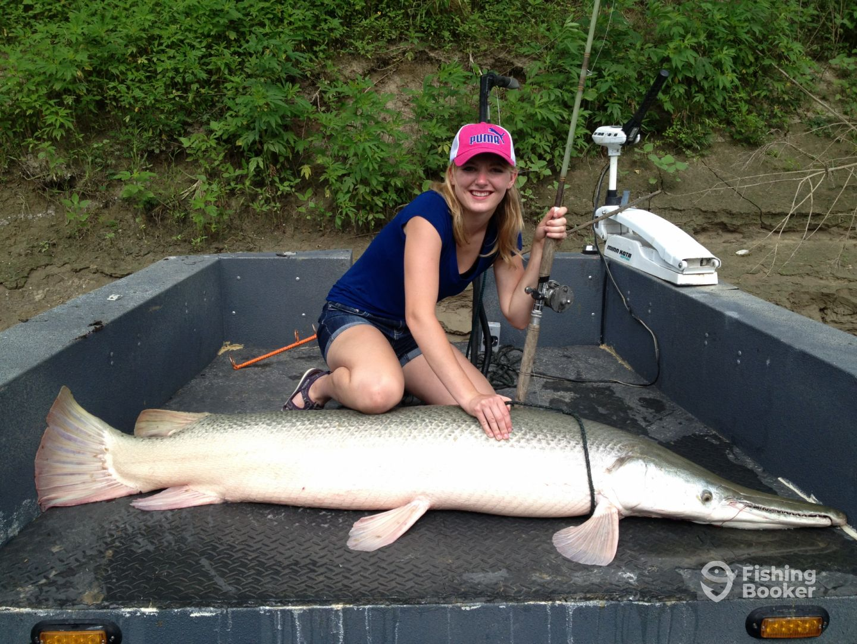 Gar fishing addiction guide service ennis tx fishingbooker for Gar fish texas