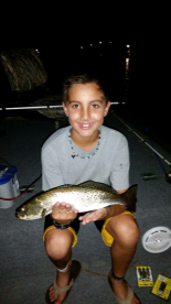 Caden's nice speckle trout