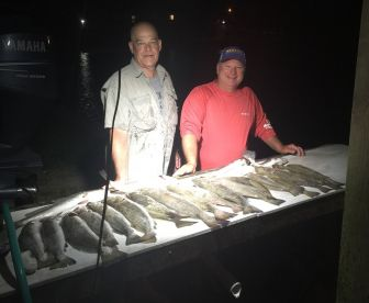 We offer Galveston night fishing trips