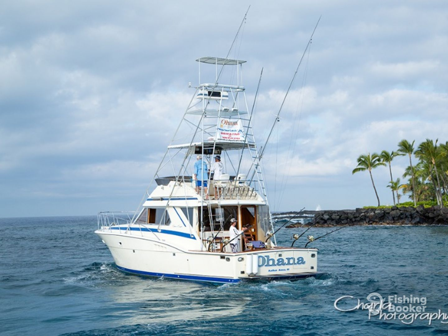 Ohana sportfishing adventures kailua kona hi for Kona fishing charters