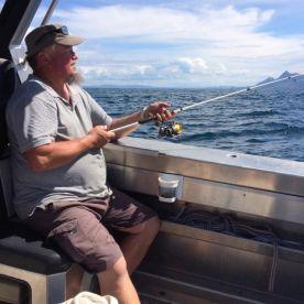 Ah - fishing in comfort