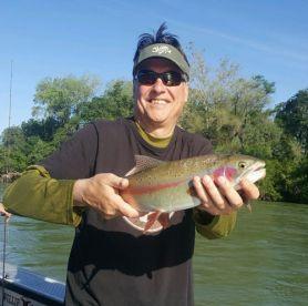 Lower Sacramento River Trout fishing