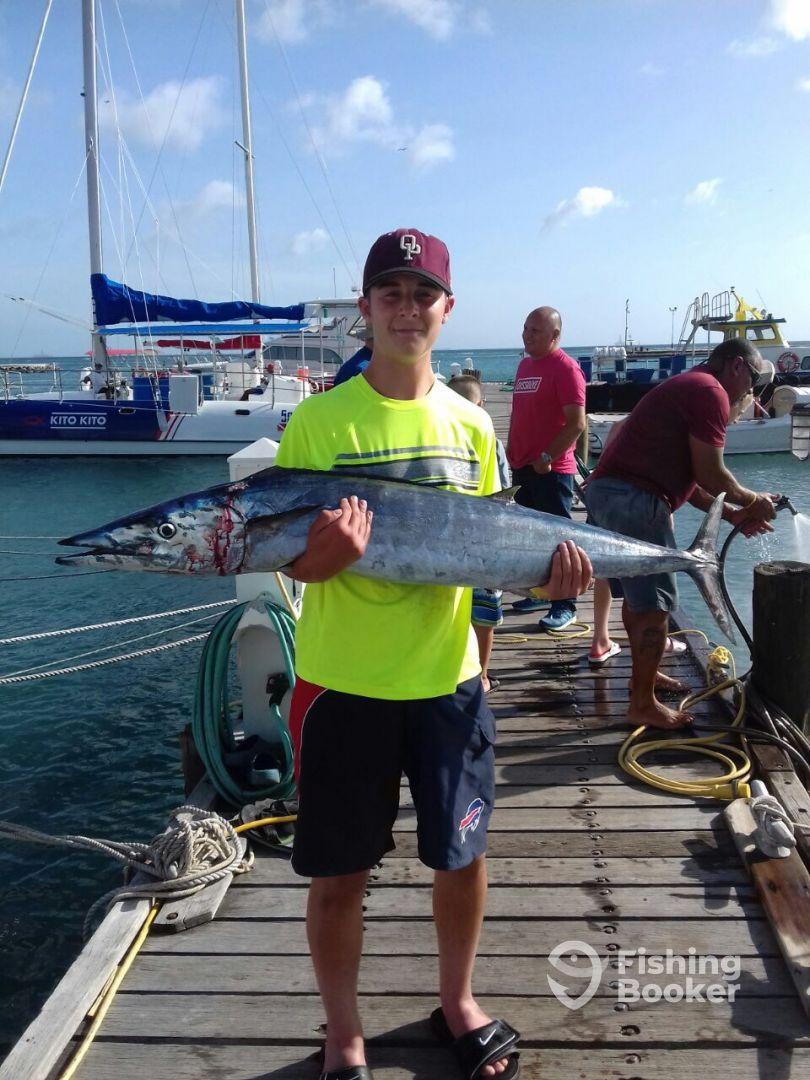 Charters aruba carla oranjestad aruba fishingbooker for Fishing in aruba