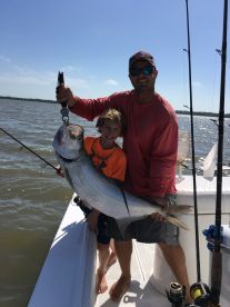 Juvenile tarpon caught in Naples
