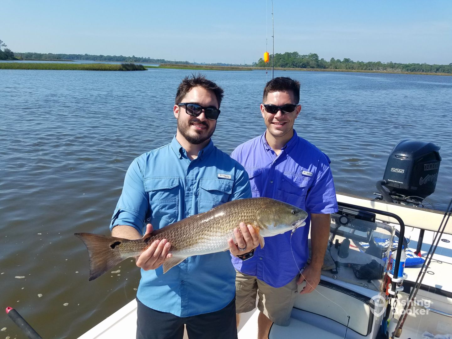 Bob, U.S. Military, first redfish 27inch 7lbs.