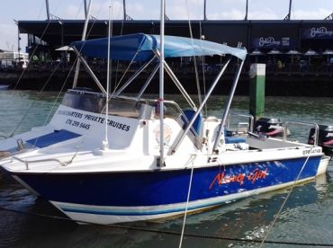 Blue Water Charters - Nawty Girl