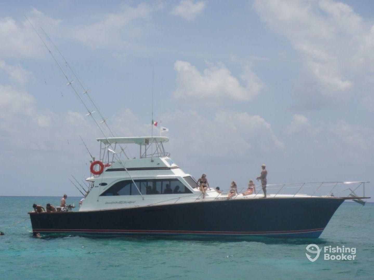 Vamonos sportfishing cozumel mexico fishingbooker for Cozumel fishing charters