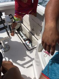 Another Wahoo day on the Te-Keel--La.