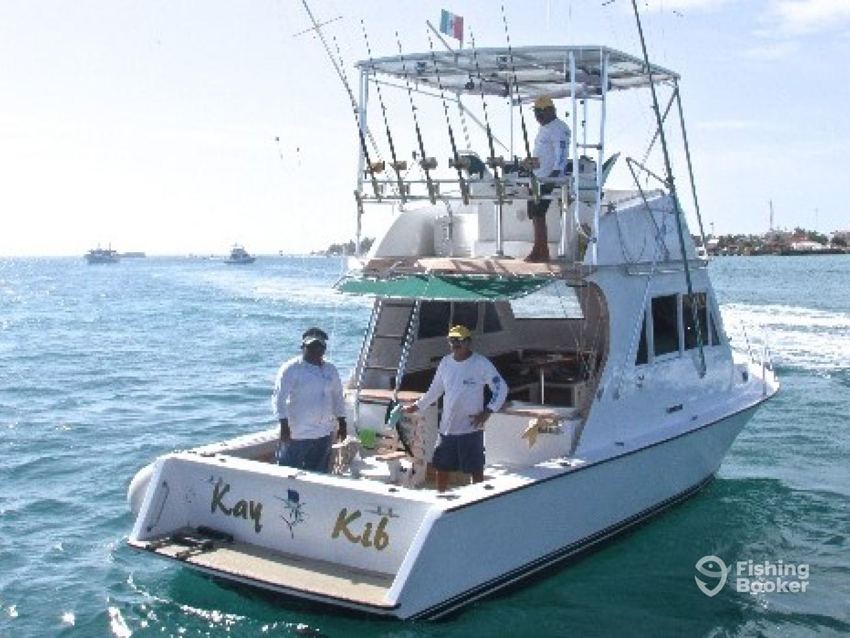 Ocean tours 34 kay kib cozumel mexico fishingbooker for Cozumel fishing charters