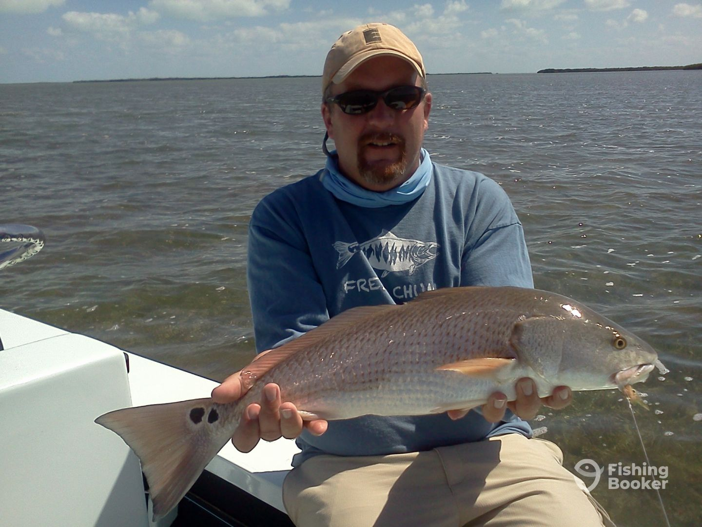 Nice Redfish in the back country.