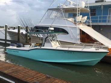 31 Ocean Master with twin Yamaha 225 four strokes
