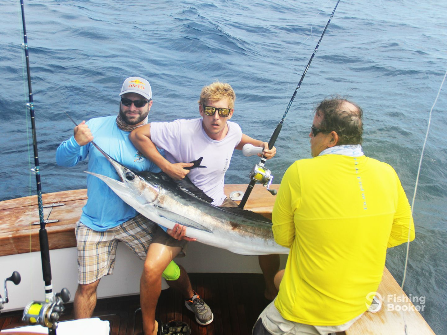 Anglers 1st white marlin
