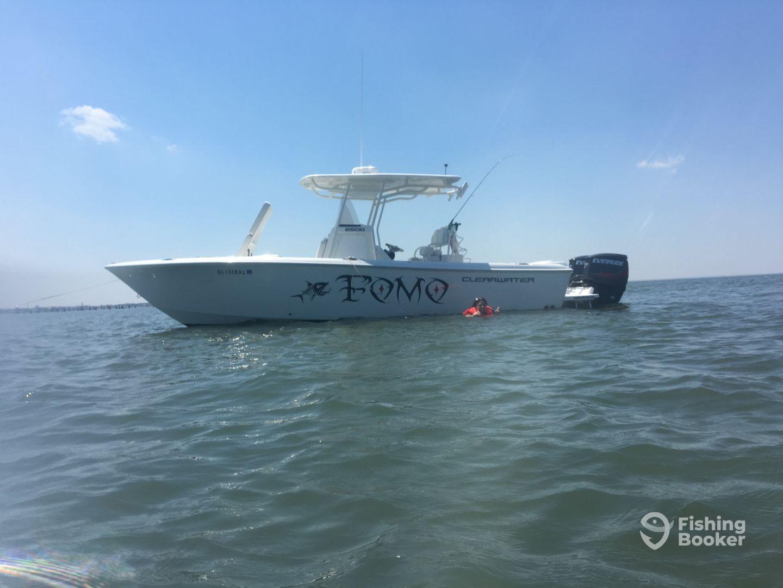 Fomo sportfishing charters lewes de fishingbooker for Fishing charters lewes de
