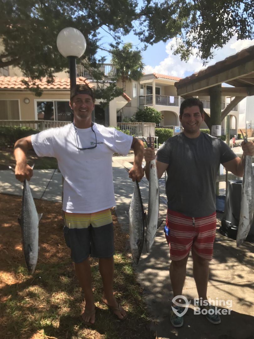 Long line charters st augustine fl fishingbooker for St augustine fishing spots
