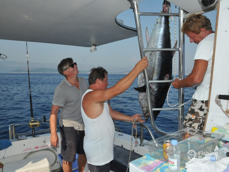 Big Game fishing Thunfisch Kroatien