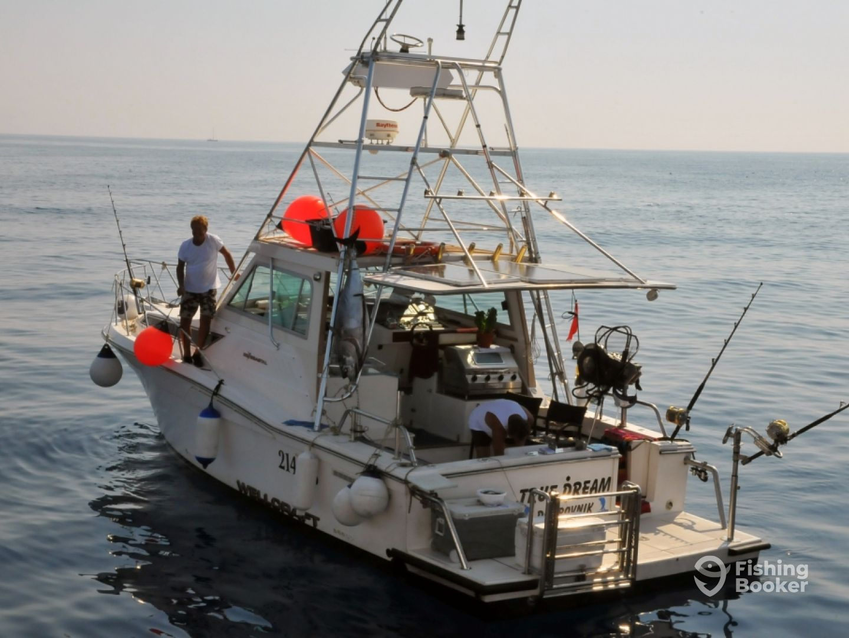 Angelboot mieten Dubrovnik | Big Game fishing