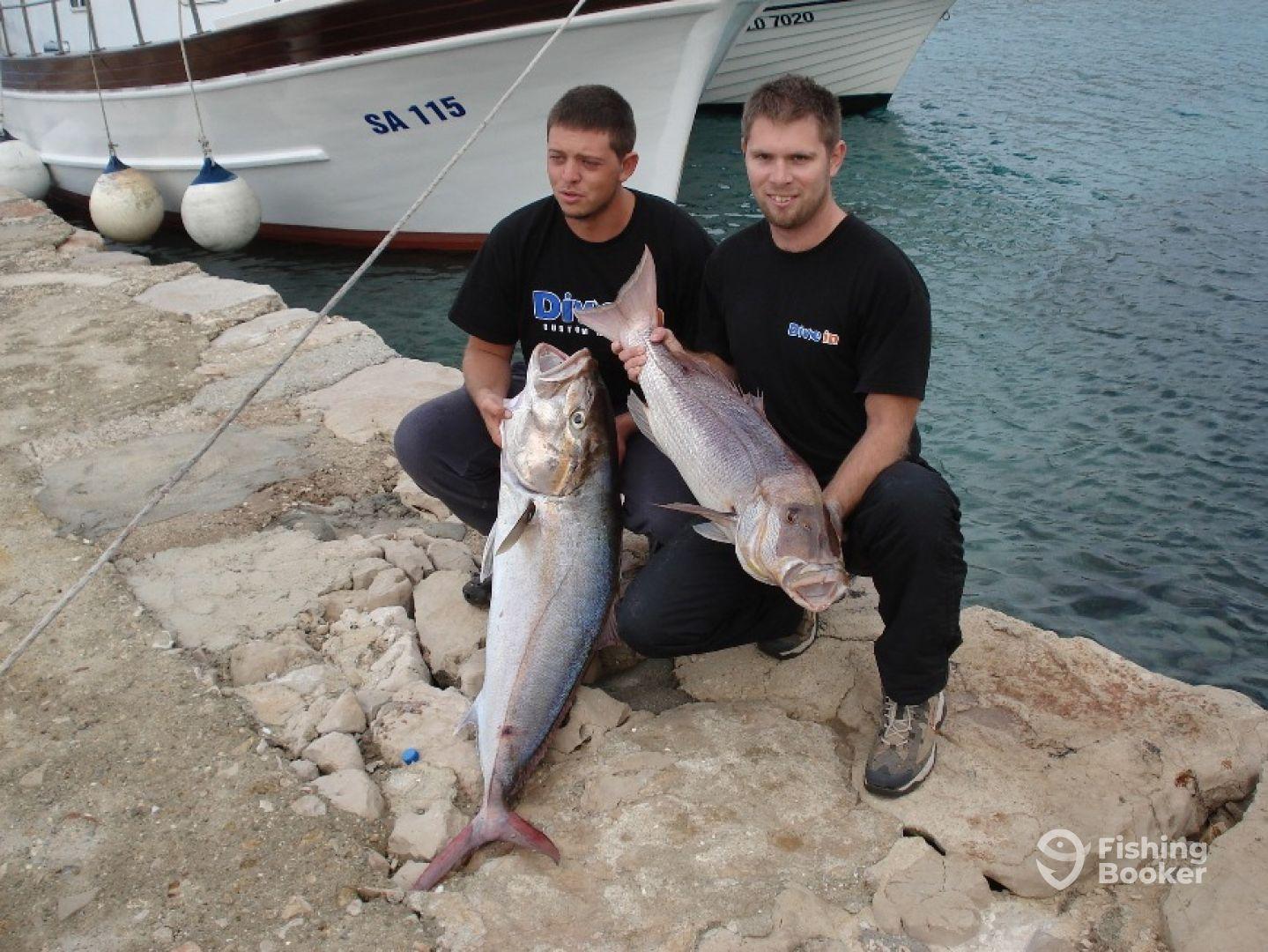 Рыбалка в хорватии с берега