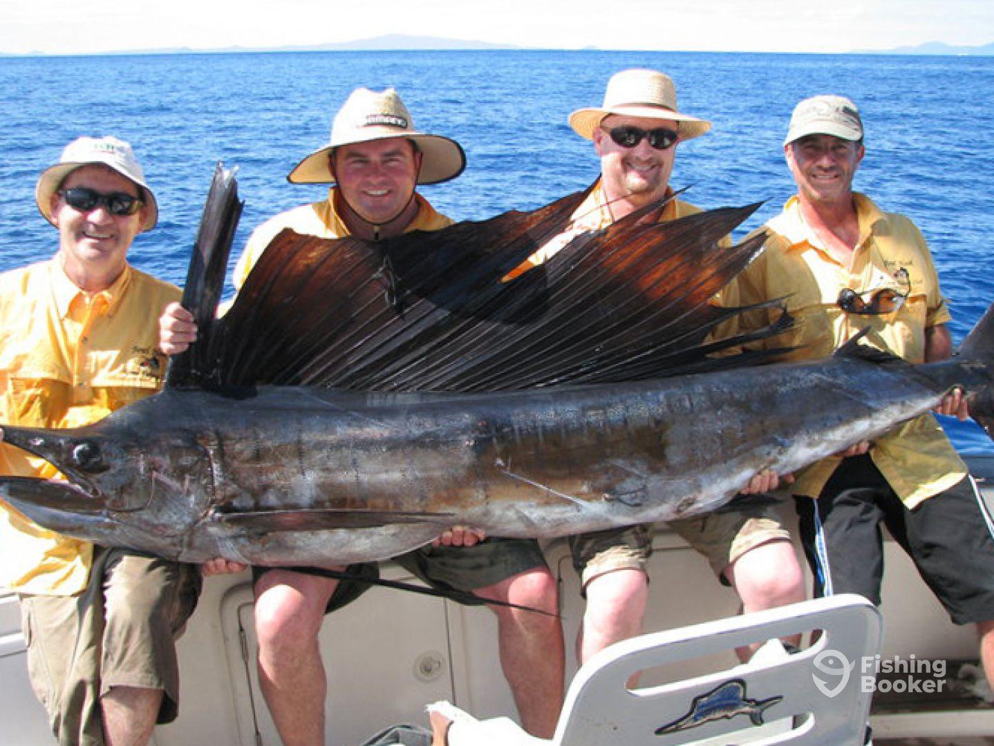 Crusoe Fishing - Reel Capture 34'