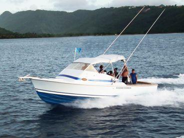 Hackshaw's Boat Charters - Blue Boy
