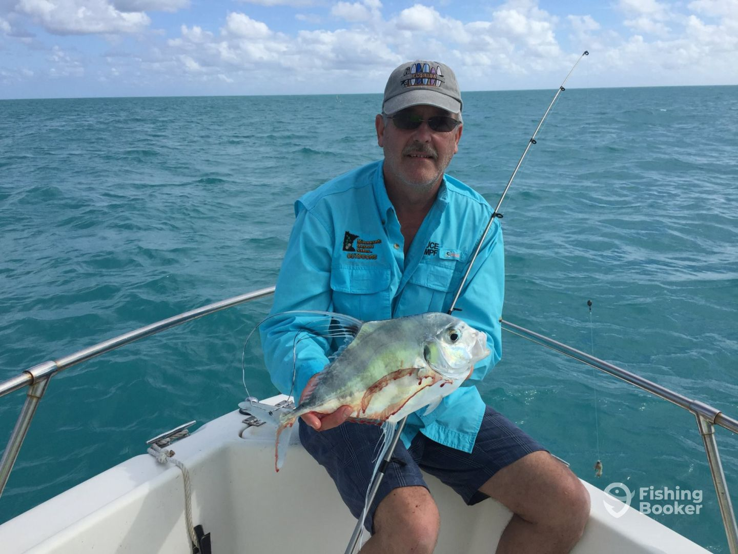 Bruce and his nice Pompano!