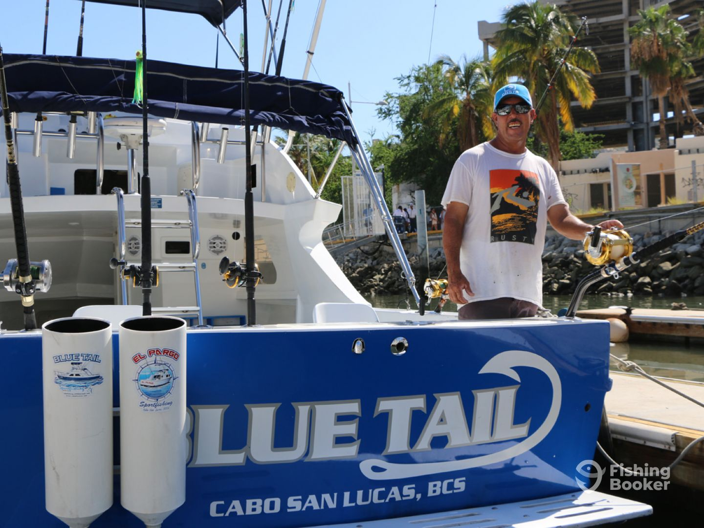 Cabo Sportfishing Crew – Blue Tail