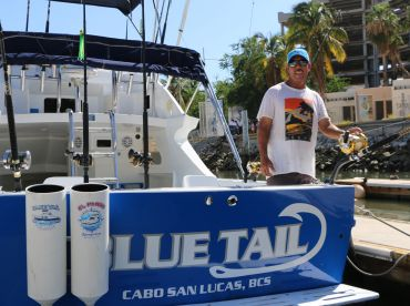 Cabo Sportfishing Crew - Blue Tail