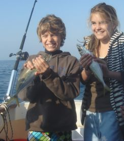 Our first catch