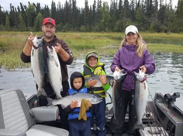 Alaska Fish On Charters!