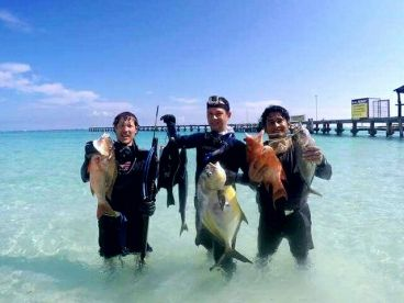 Easy Spearfishing