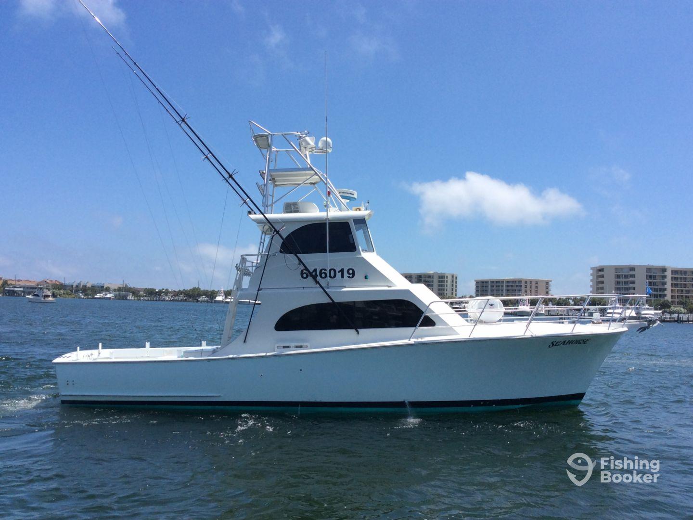 Charter boat seahorse destin fl fishingbooker for Charter fishing destin