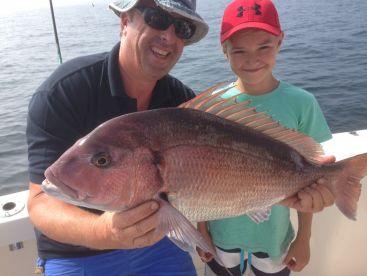 Red Snapper deep sea fishing