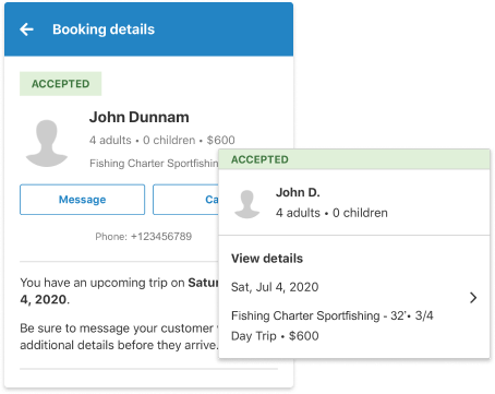 Manage Booking Requests