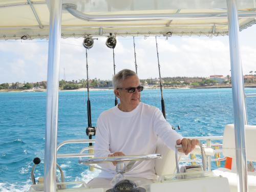 Hatts Off Charters owner Glenn Carvalhal
