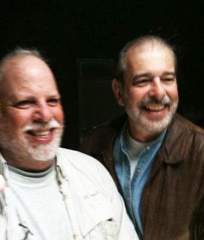 Brothers Ron and Howard  Albert