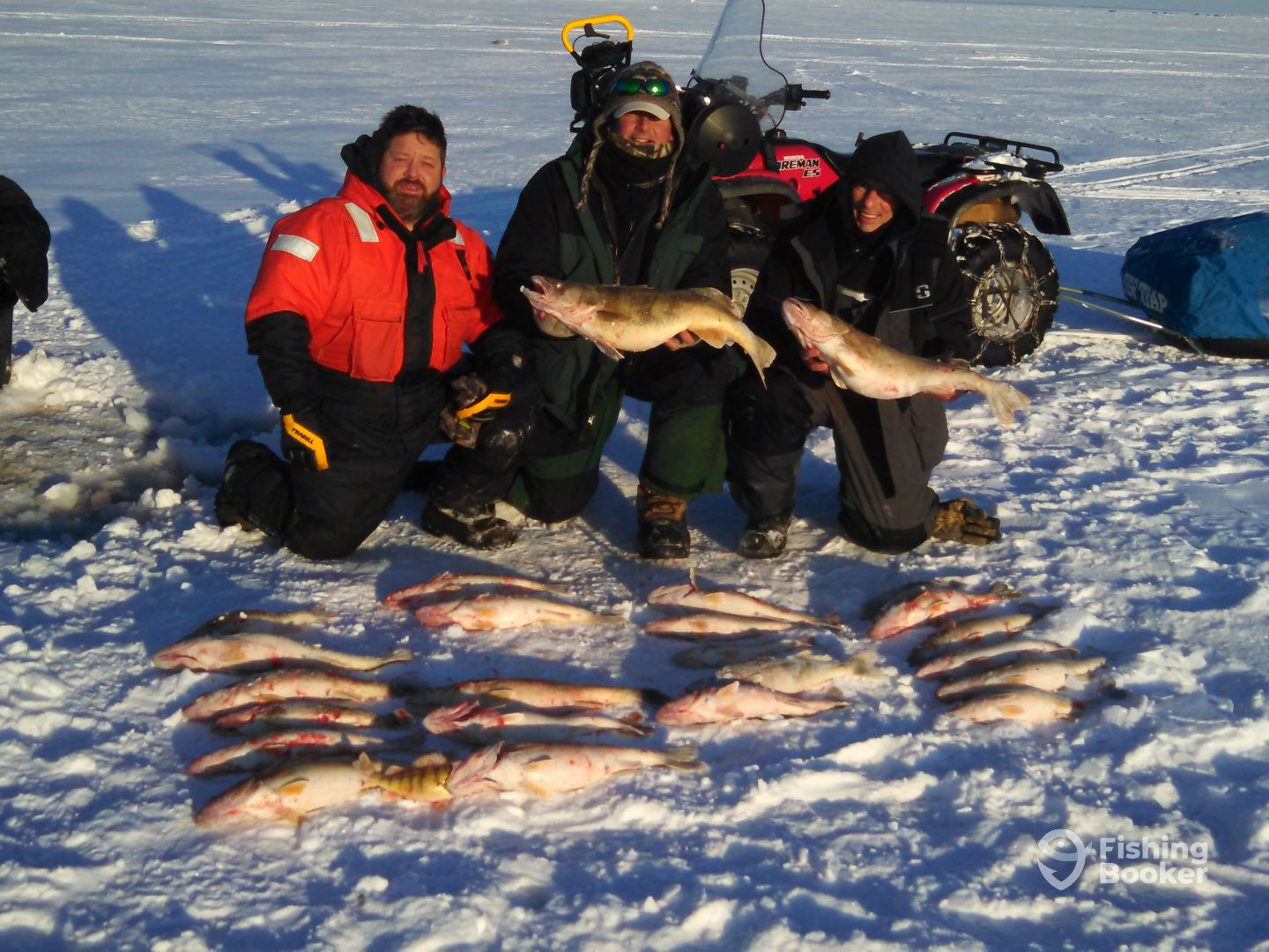 We are making ice oak harbor fishing report for Ice fishing reports