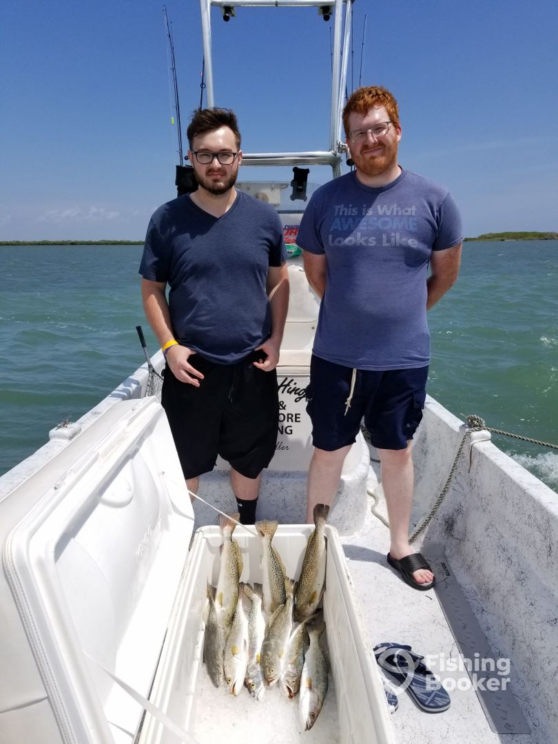 Putting in the work - South Padre Island Fishing Report ...