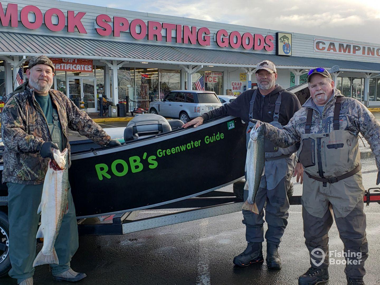 Tillamook Bay Fishing Report - FishingBooker
